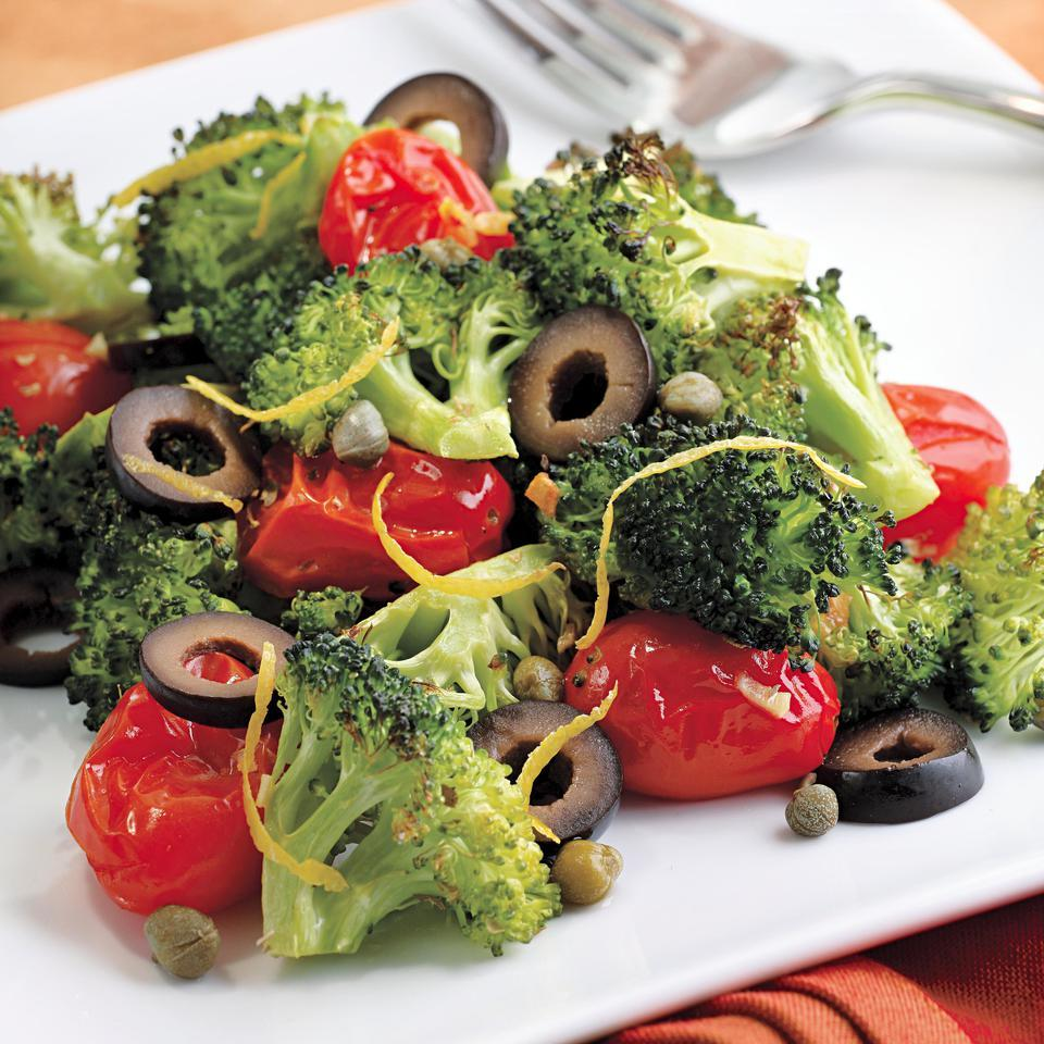 Mediterranean Roasted Broccoli & Tomatoes EatingWell Test Kitchen