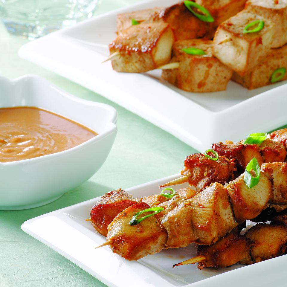 Indonesian Chicken Satays EatingWell Test Kitchen