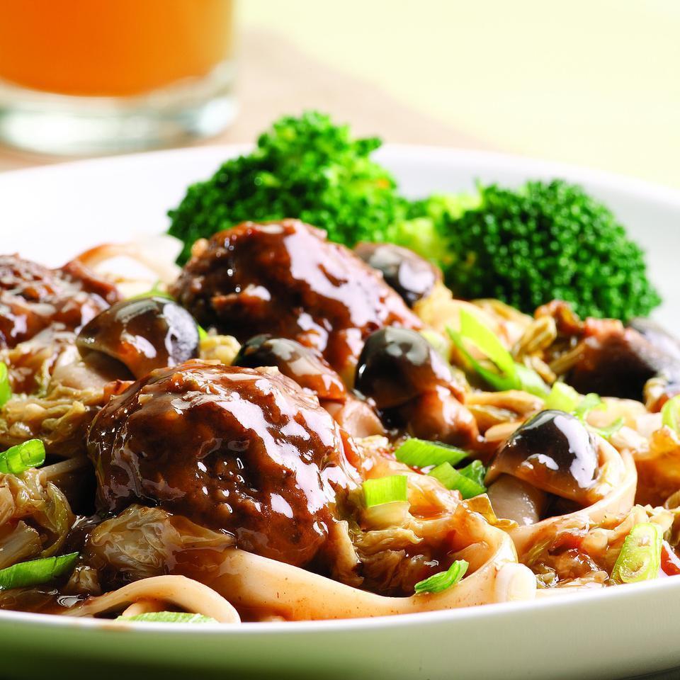 Szechuan Braised Meatballs EatingWell Test Kitchen
