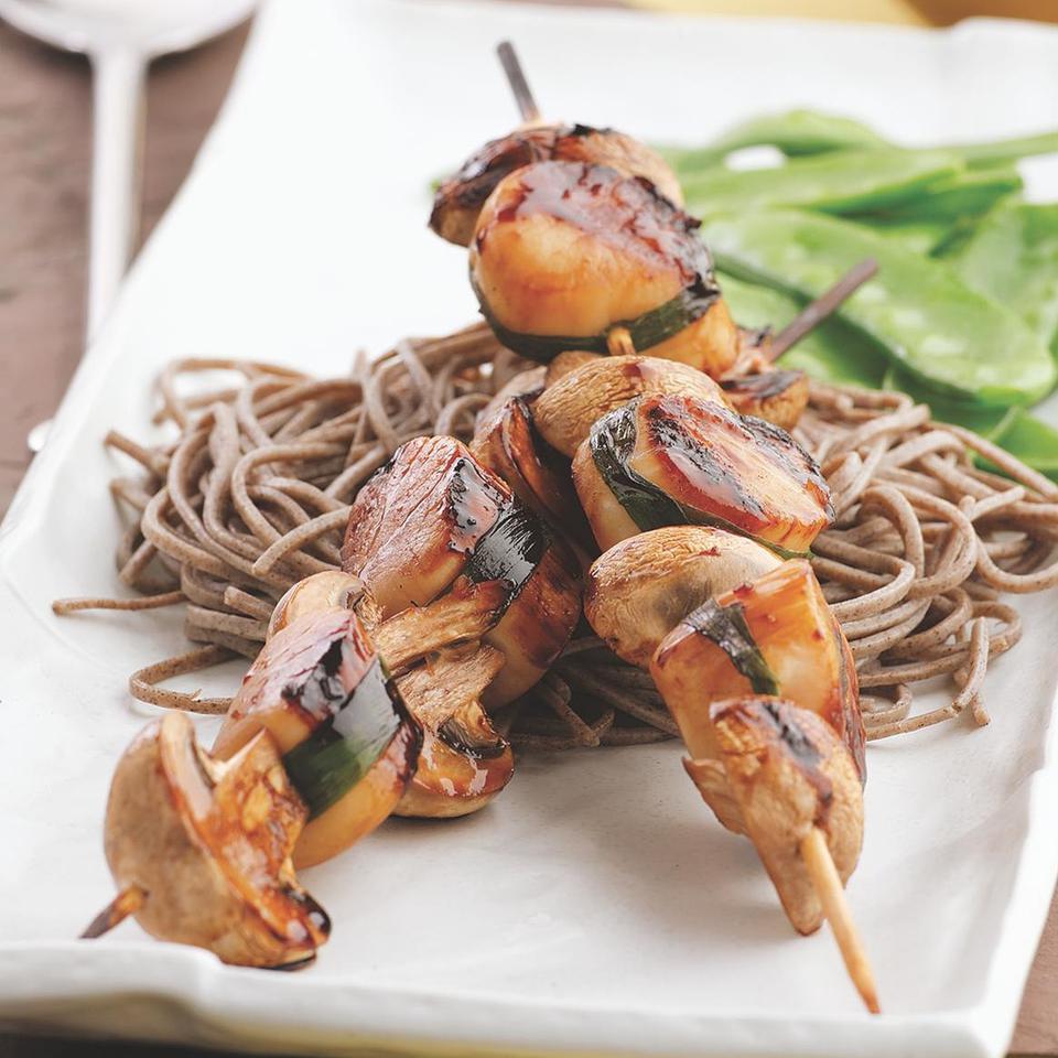 Scallops Yakitori EatingWell Test Kitchen