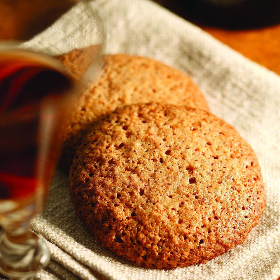 """These crispy cookies are made with Piedmontese staples—hazelnuts and eggs—and called Brutti Ma Buoni: literally, """"Ugly But Good."""" But they are really more plain-looking than """"ugly,"""" and pack a powerful, sweet, nutty burst of flavor, making them welcome at any table."""