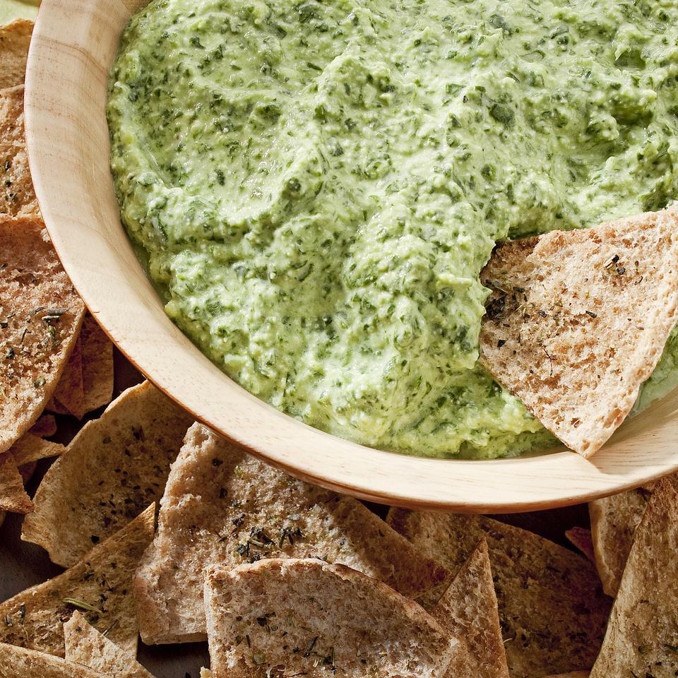 Garlic & Herb Pita Chips EatingWell Test Kitchen