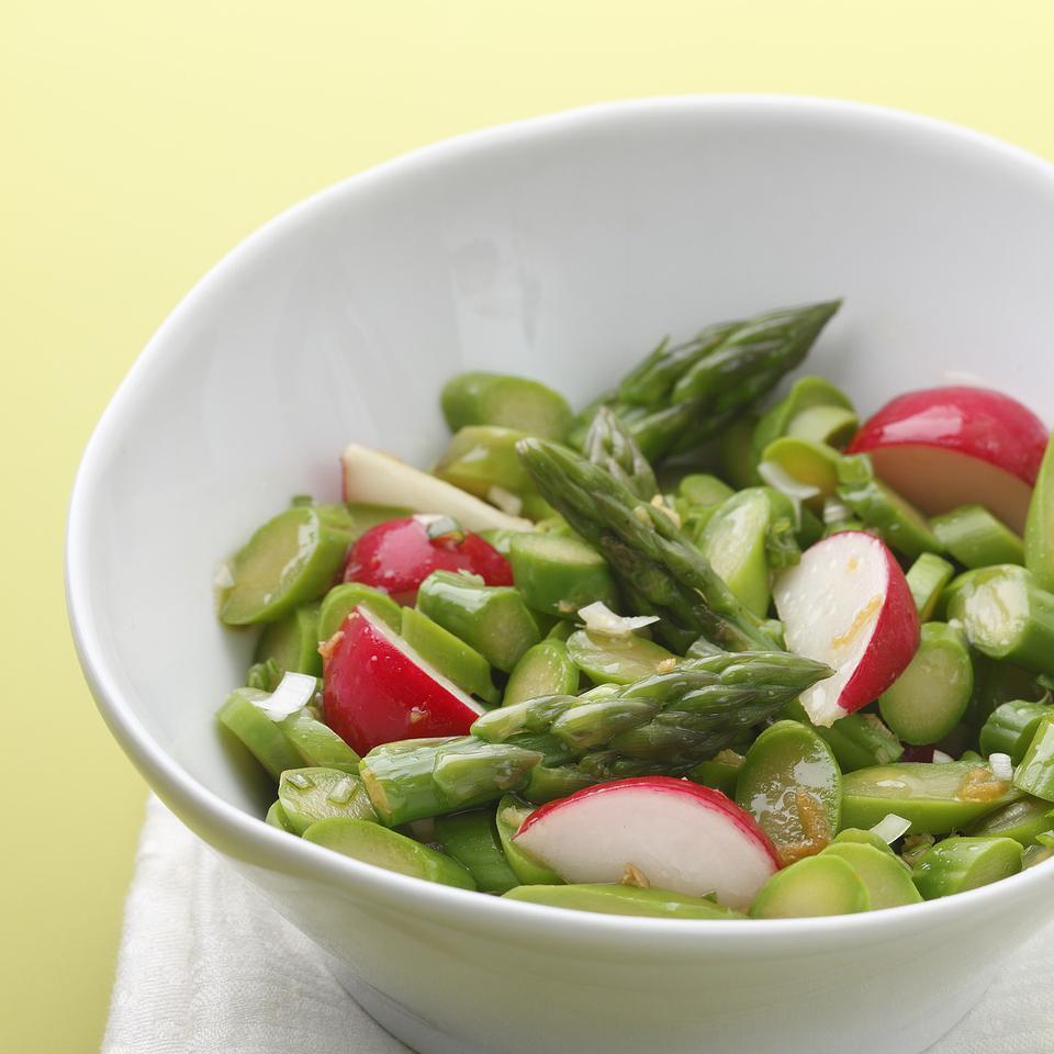 Asparagus & Radish Salad EatingWell Test Kitchen