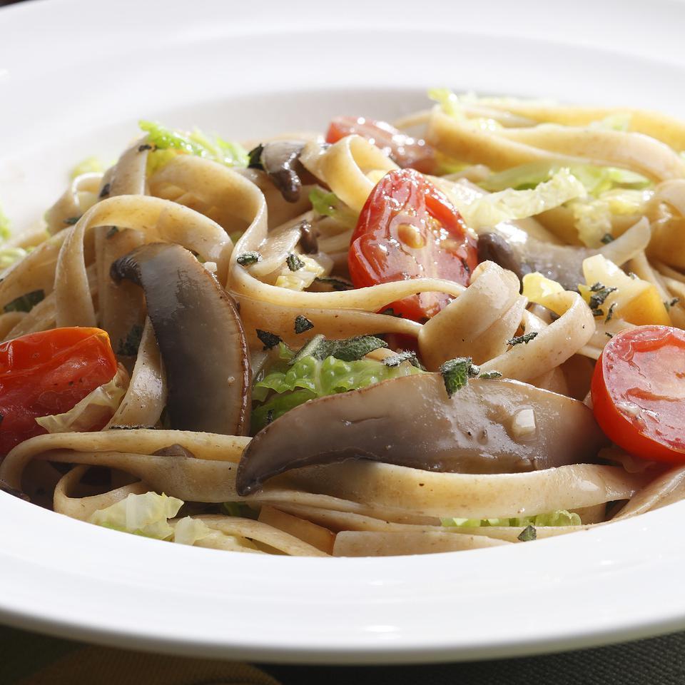 Alpine Mushroom Pasta EatingWell Test Kitchen