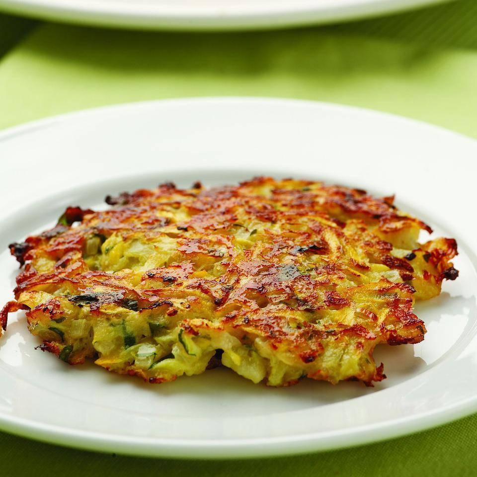 Parmesan-Squash Cakes EatingWell Test Kitchen