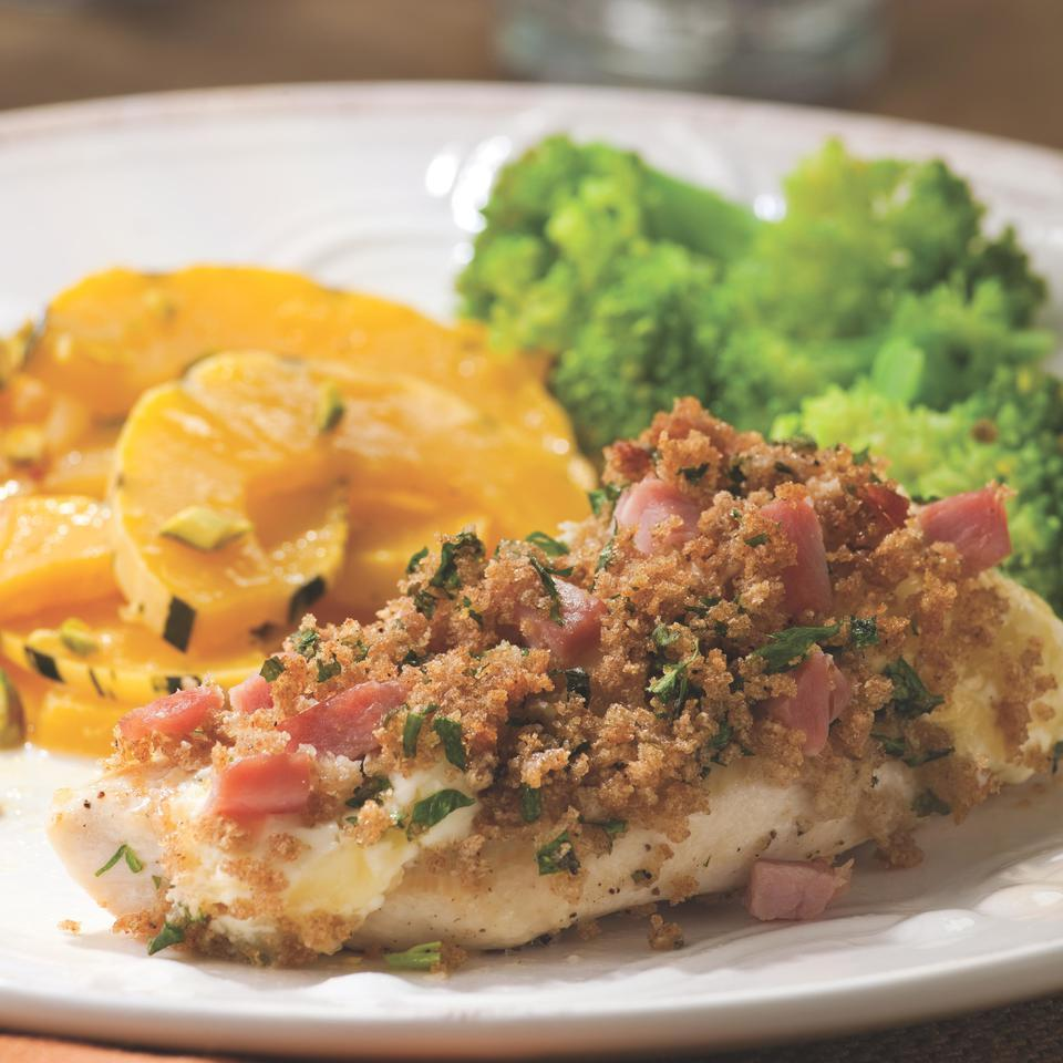Quick Chicken Cordon Bleu for Two EatingWell Test Kitchen