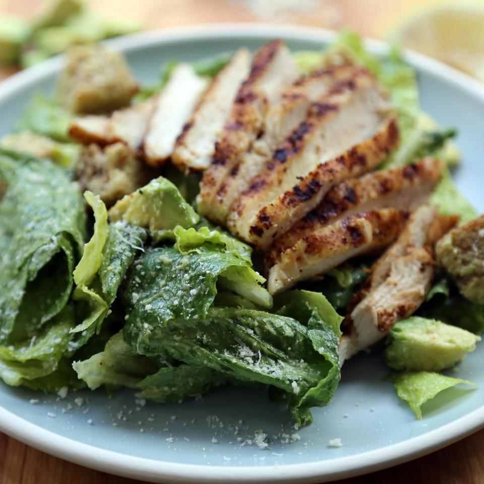 Southwest Grilled Chicken Caesar EatingWell Test Kitchen