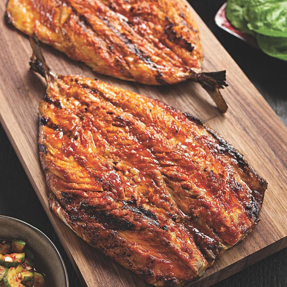 Korean Grilled Mackerel Jamie Purviance