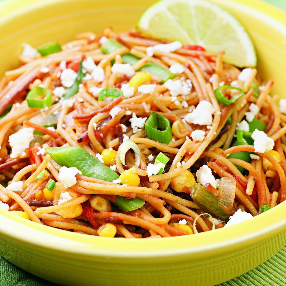 Stovetop Fideos EatingWell Test Kitchen