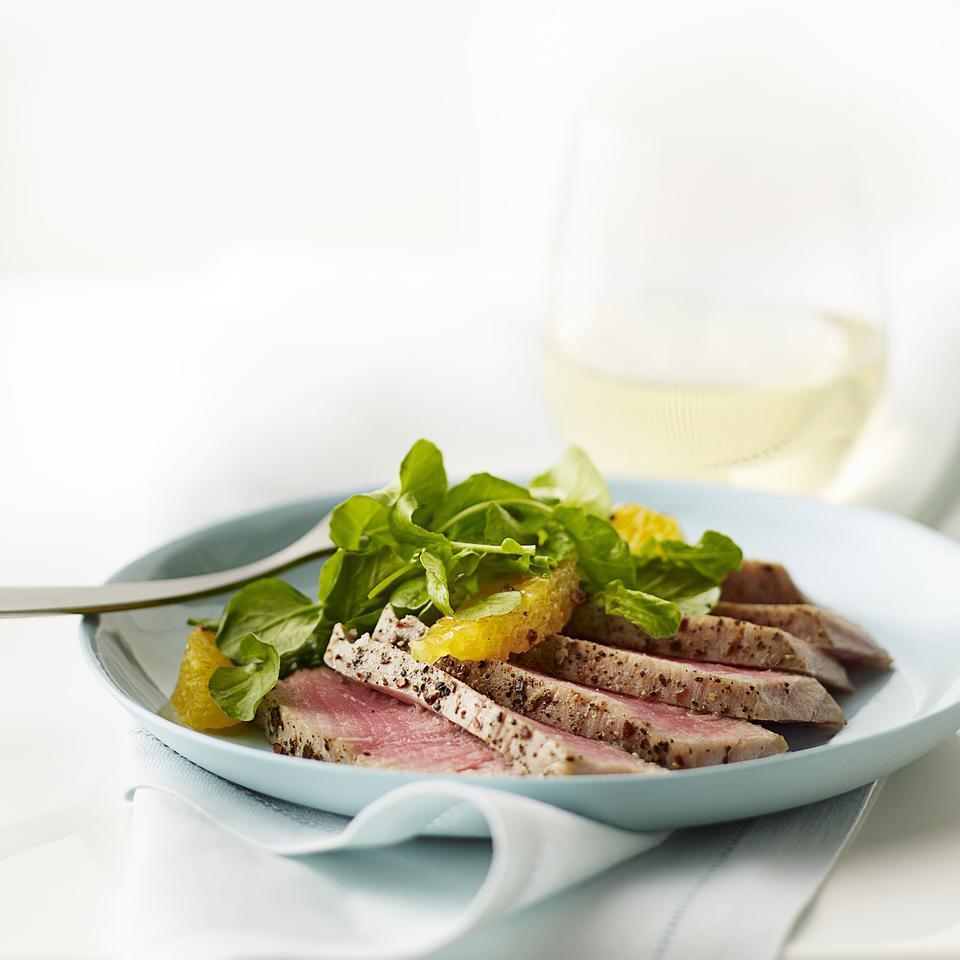 Orange, Watercress & Tuna Salad Lori Longbotham