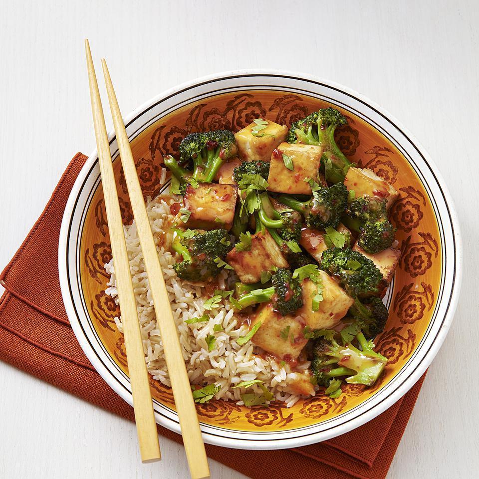 Chipotle-Orange Broccoli & Tofu EatingWell Test Kitchen