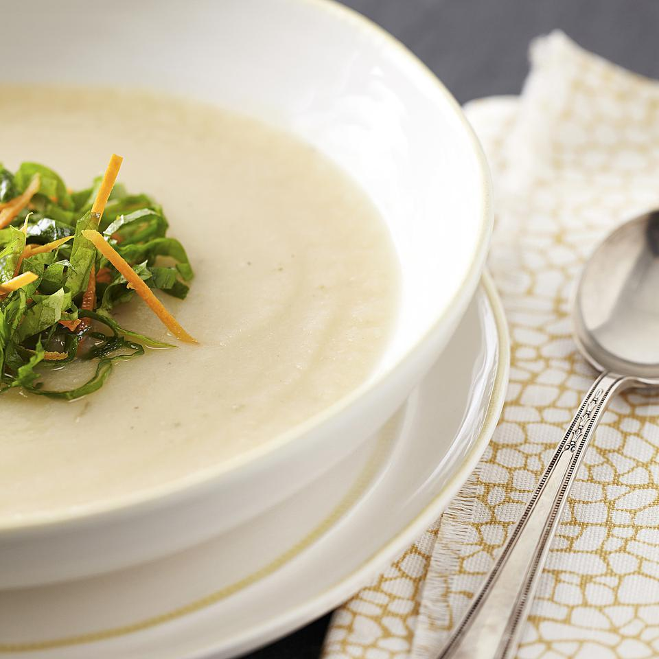 Creamy Turnip Soup EatingWell Test Kitchen