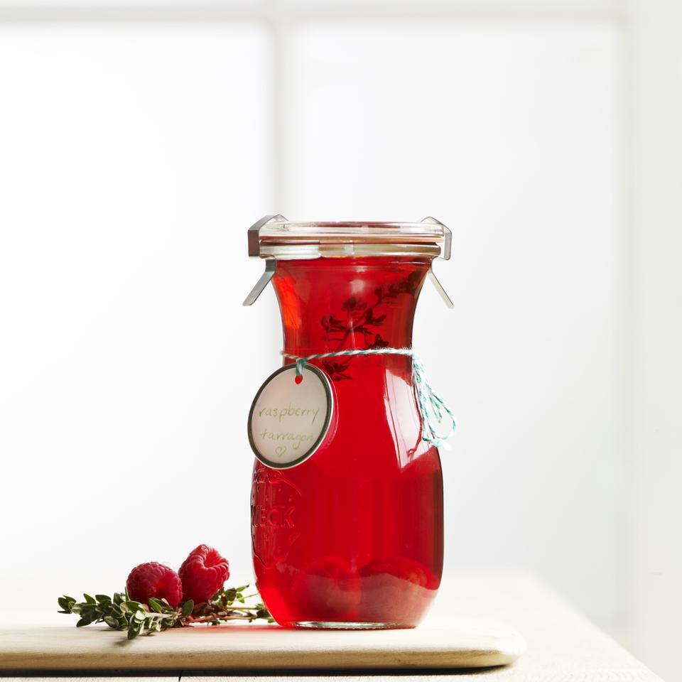 Raspberry-Thyme Vinegar EatingWell Test Kitchen
