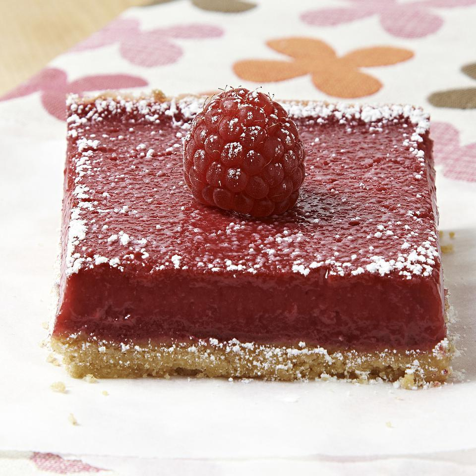 Raspberry Squares EatingWell Test Kitchen