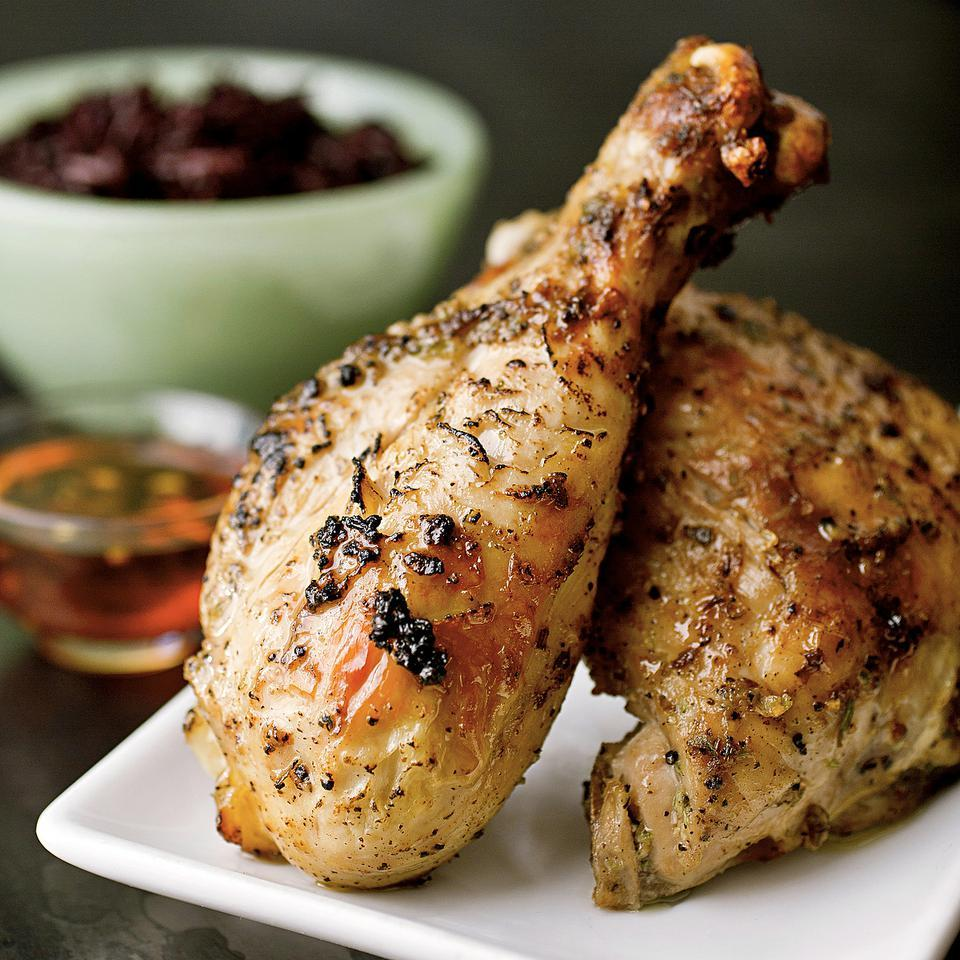 Thai Grilled Chicken with Sweet & Spicy Dipping Sauce Naomi Duguid