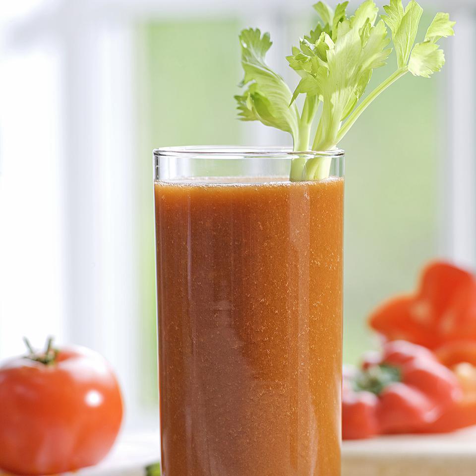 Tomato-Vegetable Juice EatingWell Test Kitchen