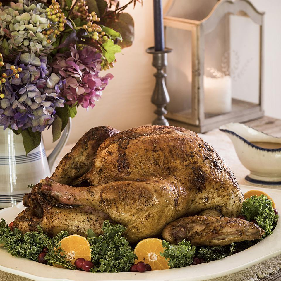 Bay-Spiced Roast Turkey Bill Scepansky