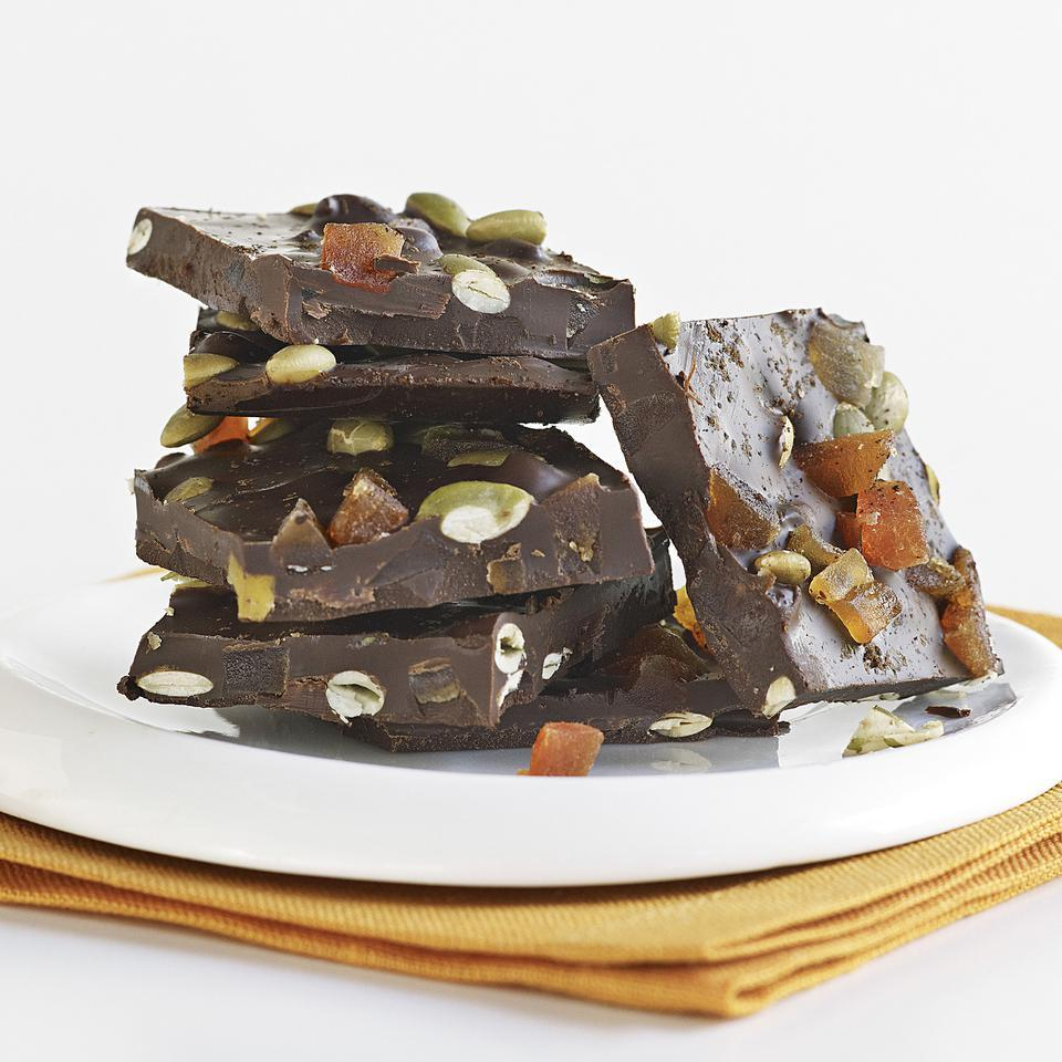 Papaya & Chile Chocolate Bark EatingWell Test Kitchen