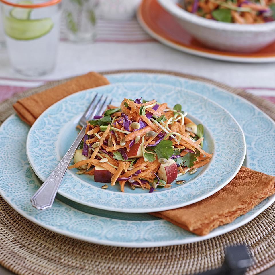 Apple, Carrot & Cabbage Chopped Salad Romney Steele