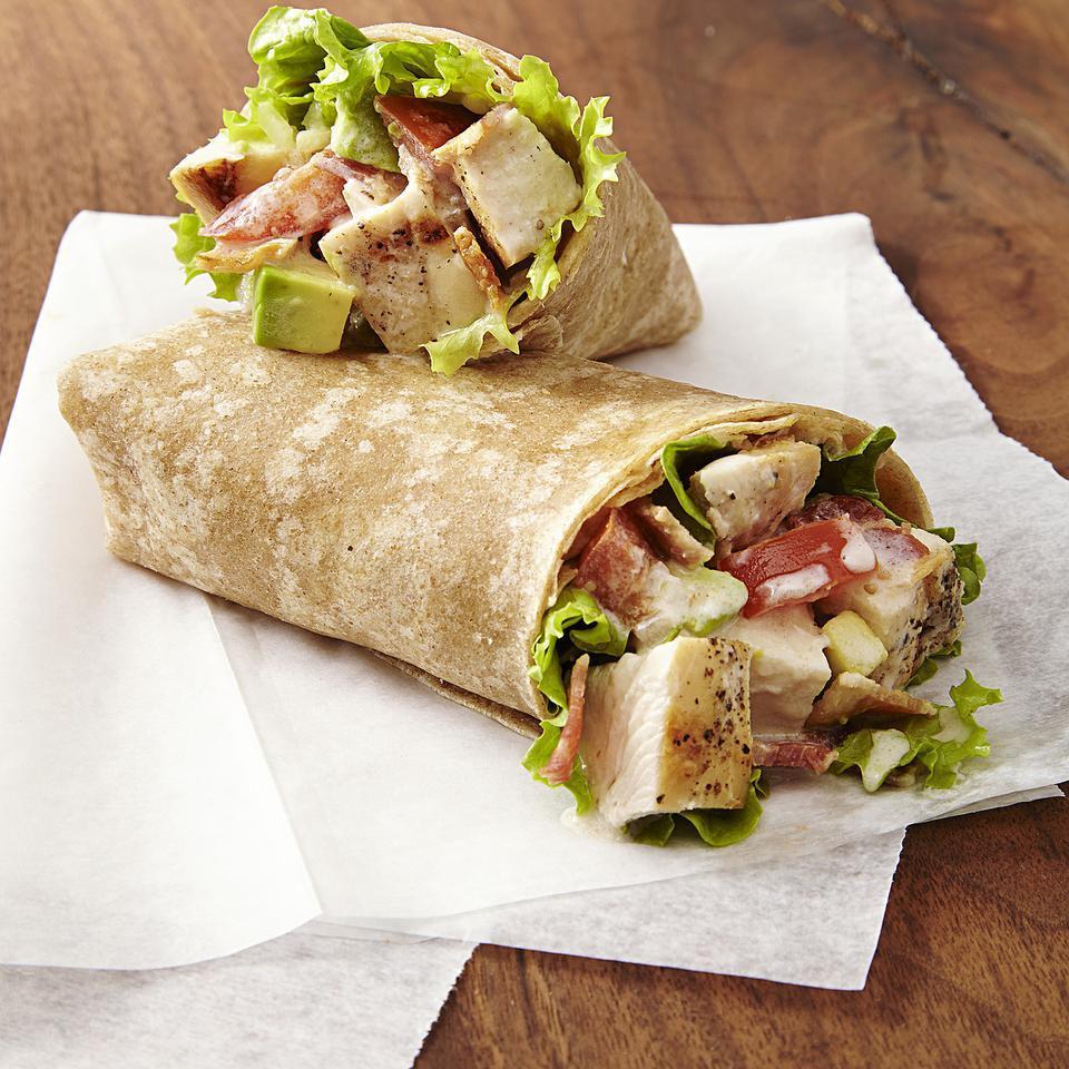 Chicken Club Wraps EatingWell Test Kitchen