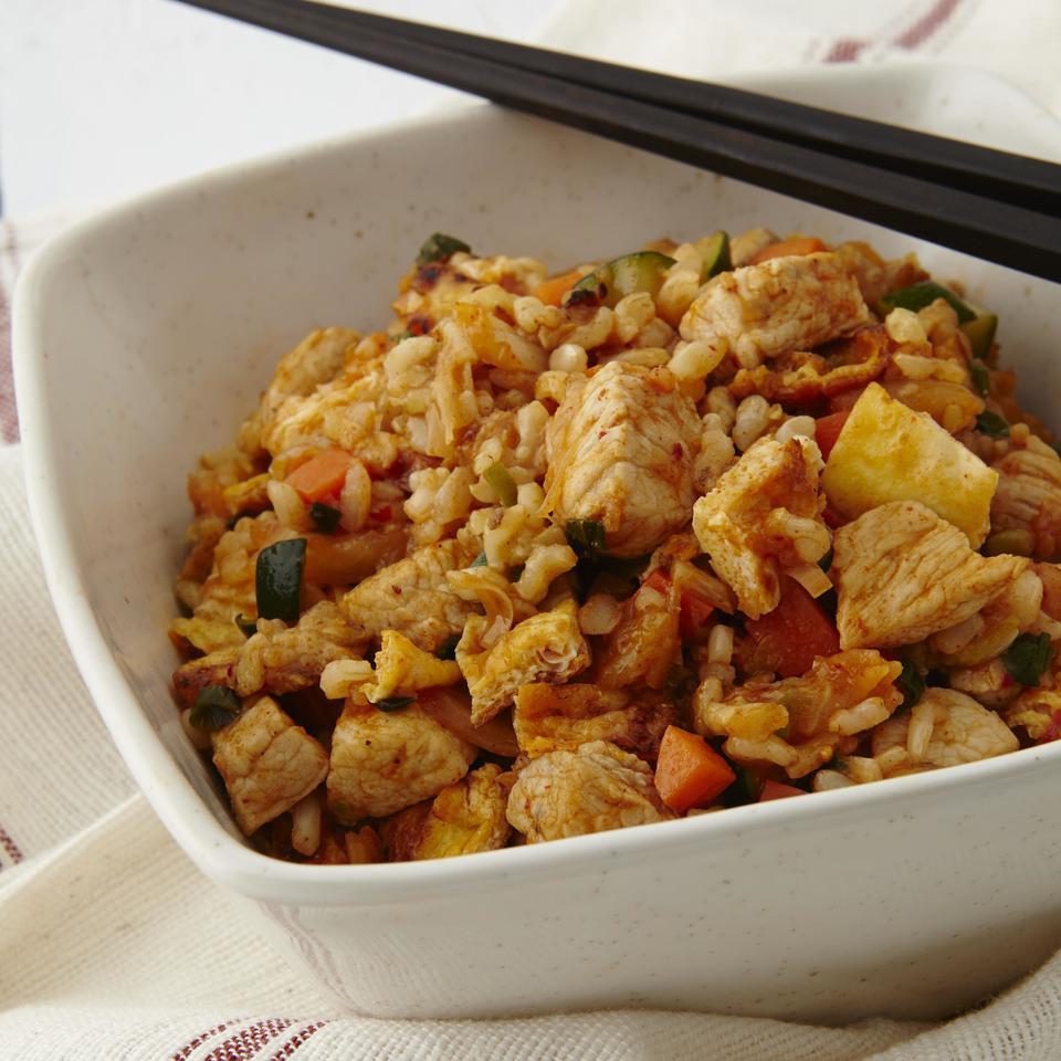 Korean Pork & Kimchi Fried Rice EatingWell Test Kitchen