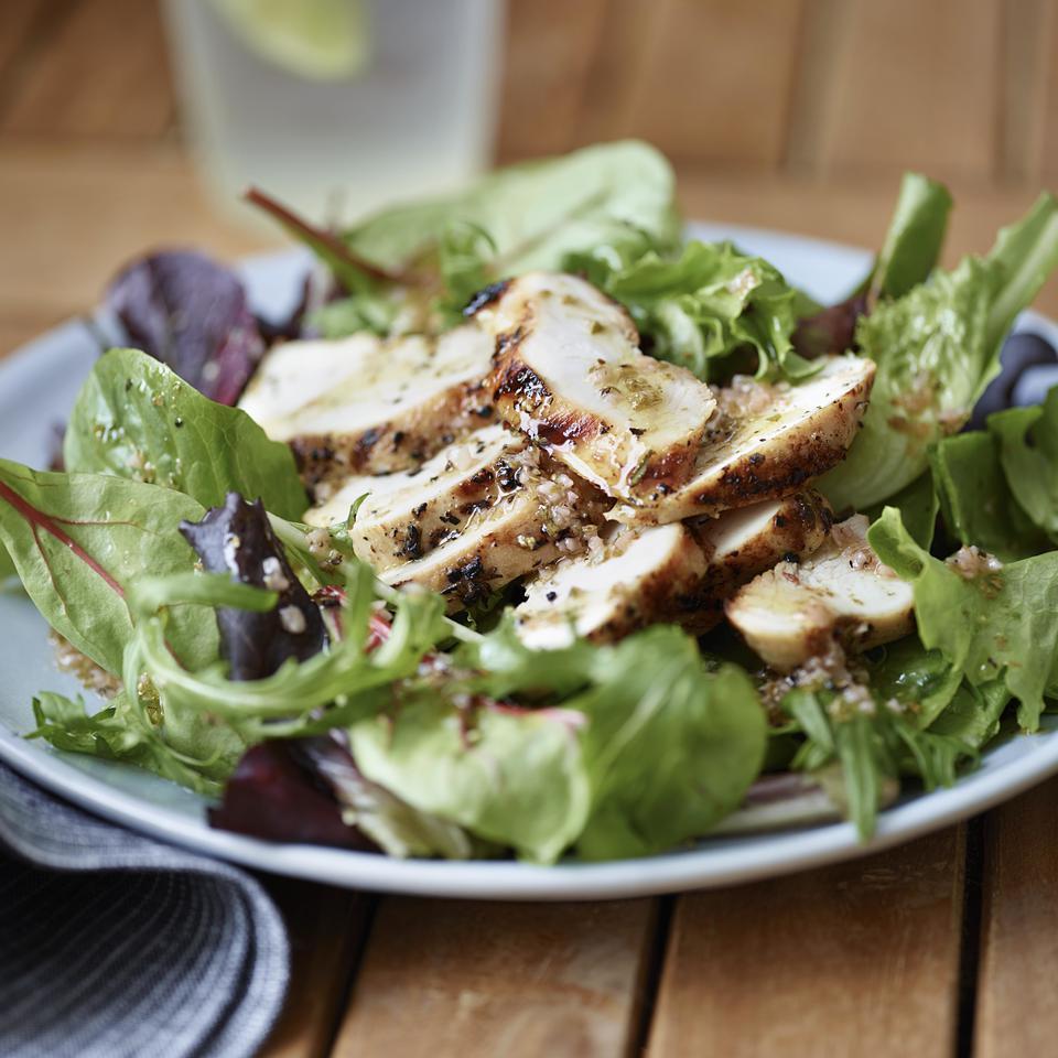 Buttermilk Brined Chicken Breast Salad
