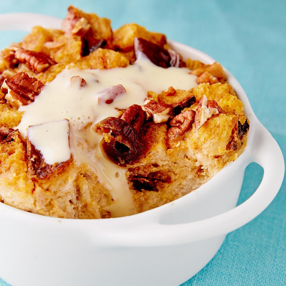 Pecan, Date & Pumpkin Bread Pudding EatingWell Test Kitchen