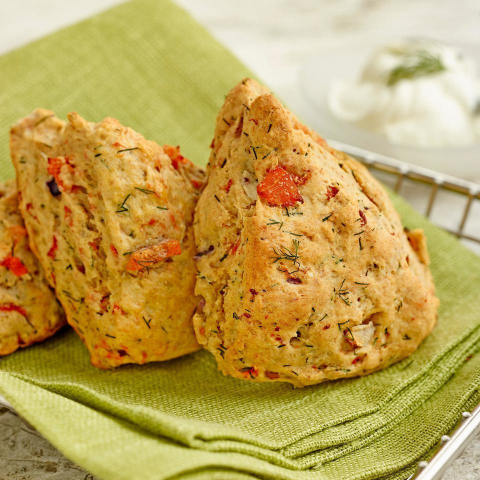 Smoked Salmon & Dill Scones EatingWell Test Kitchen