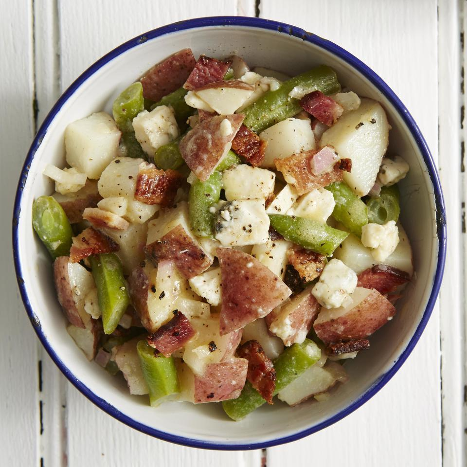 Blue Cheese & Bacon Potato Salad EatingWell Test Kitchen