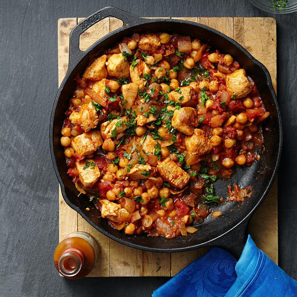 Middle Eastern Chicken & Chickpea Stew EatingWell Test Kitchen