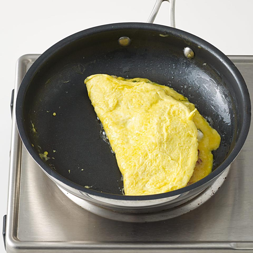 Bacon, Cheddar & Chive Omelet Kathy Gunst