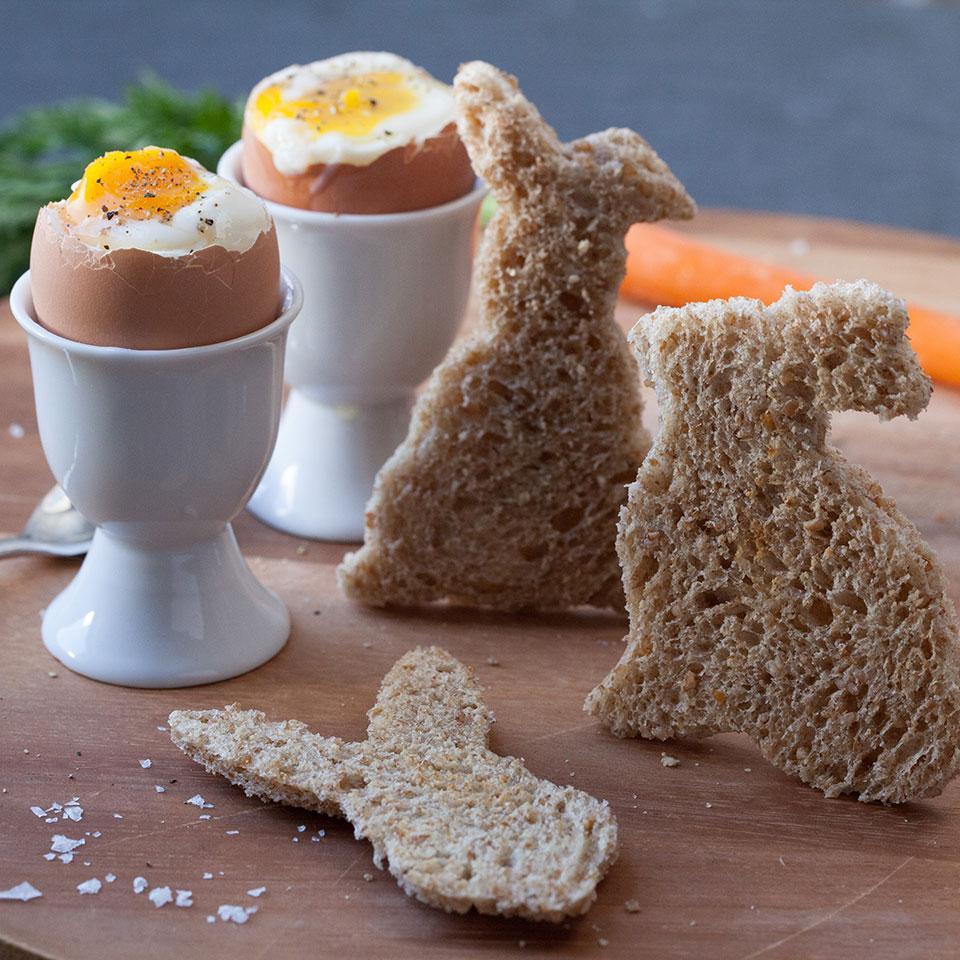 Chicks & Bunnies (Soft-Boiled Eggs & Soldiers) Devon O'Brien