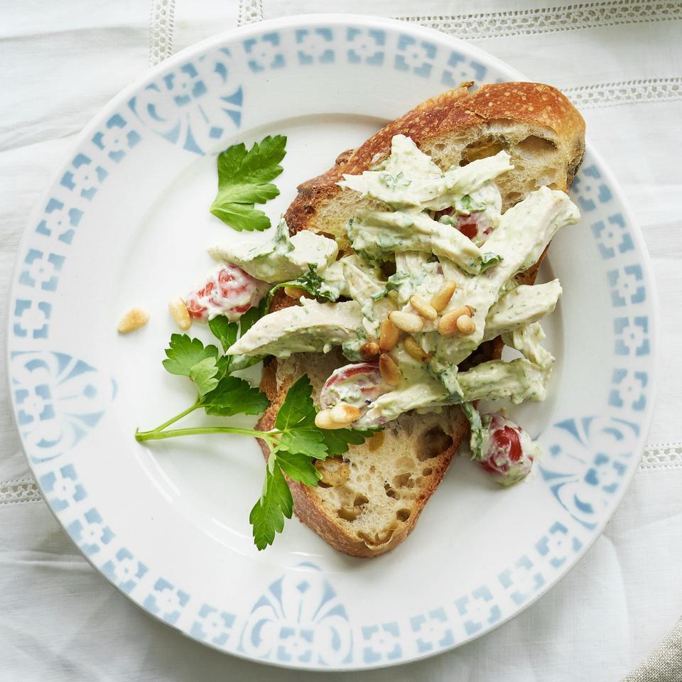 Italian Pesto Chicken Salad EatingWell Test Kitchen