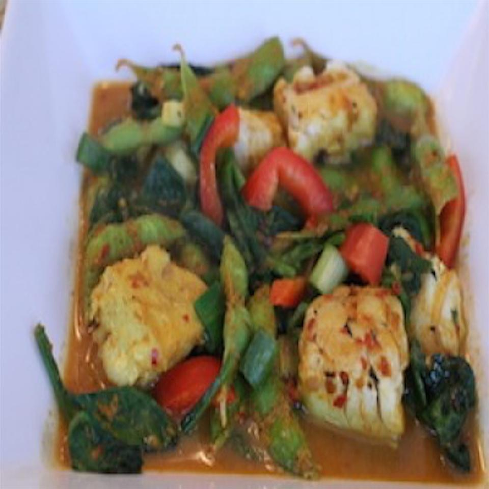 Coconut Curry Haddock