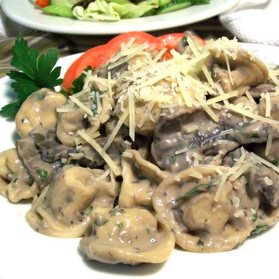 Absolutely Fabulous Portobello Mushroom Tortellini