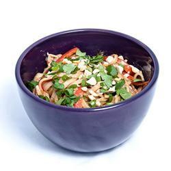 Udon Peanut Butter Noodles gapey