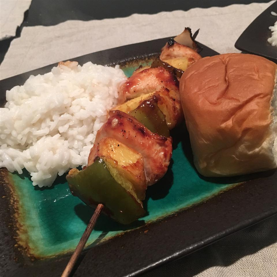 Ultra Easy Pineapple Chicken Kabobs Emily Roberts