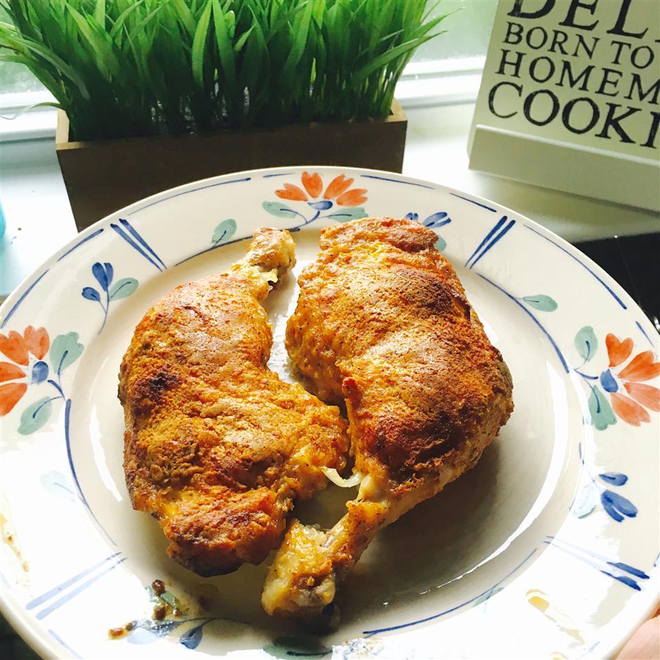 Oven-Baked Chicken LittleCupcake