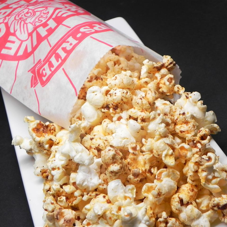 Butter Popcorn With Sumac