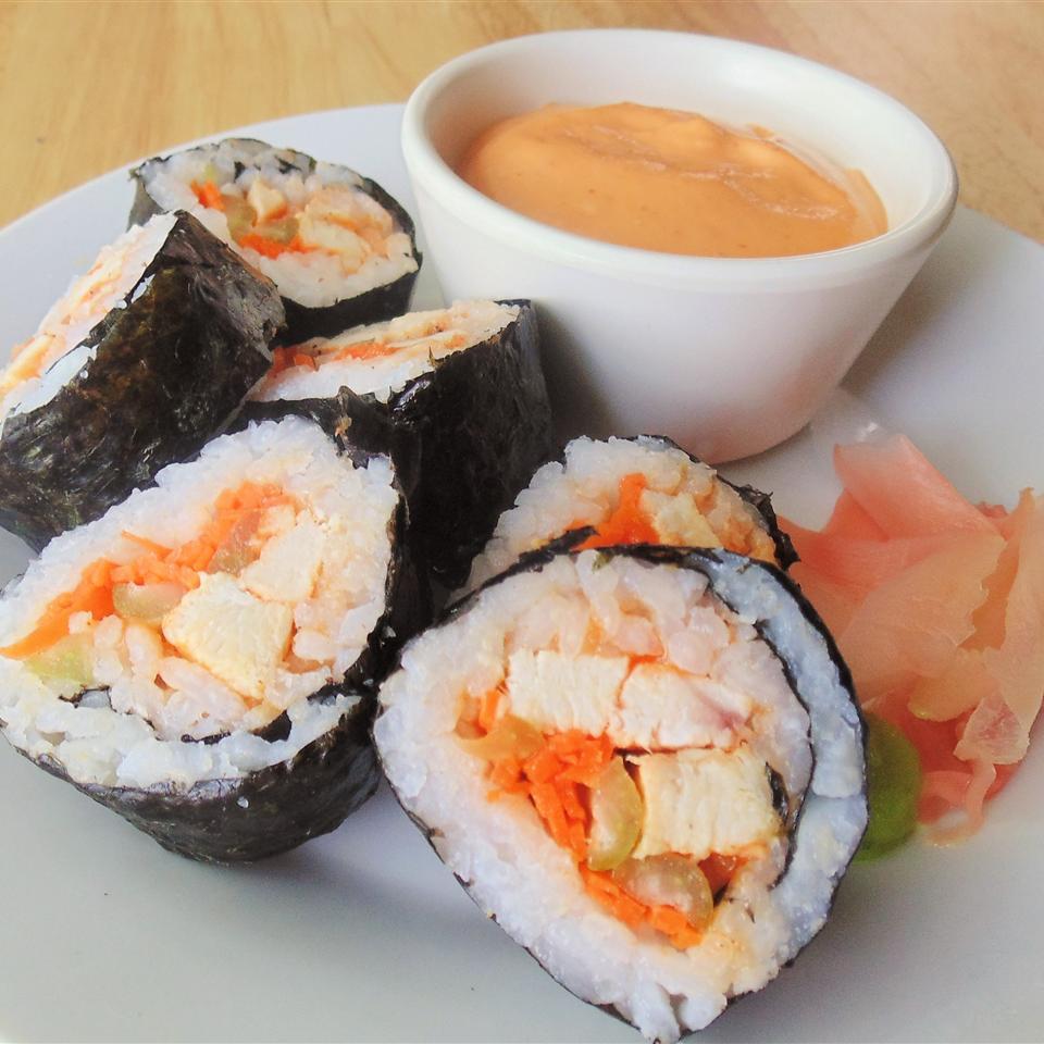 Buffalo Chicken Sushi Roll Bennyh614