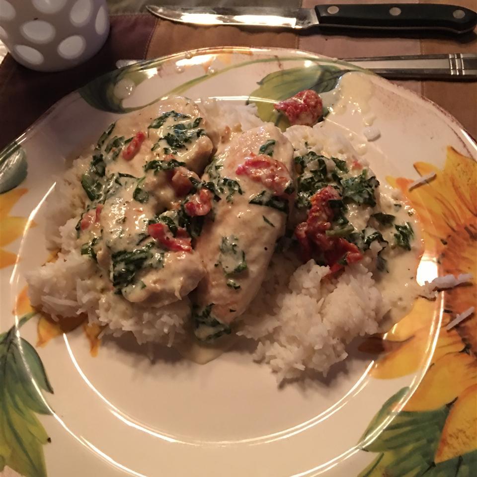 Garlic Tuscan Chicken