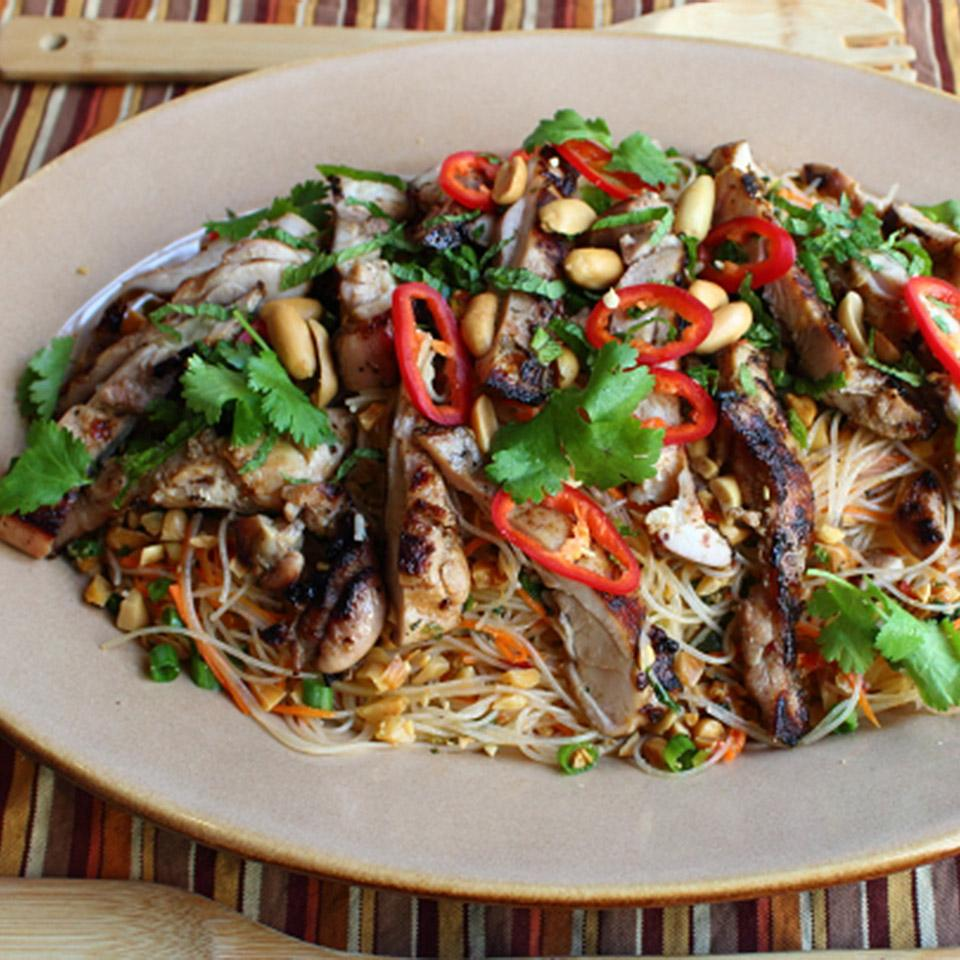 Spicy Rice Noodle Salad Chef John