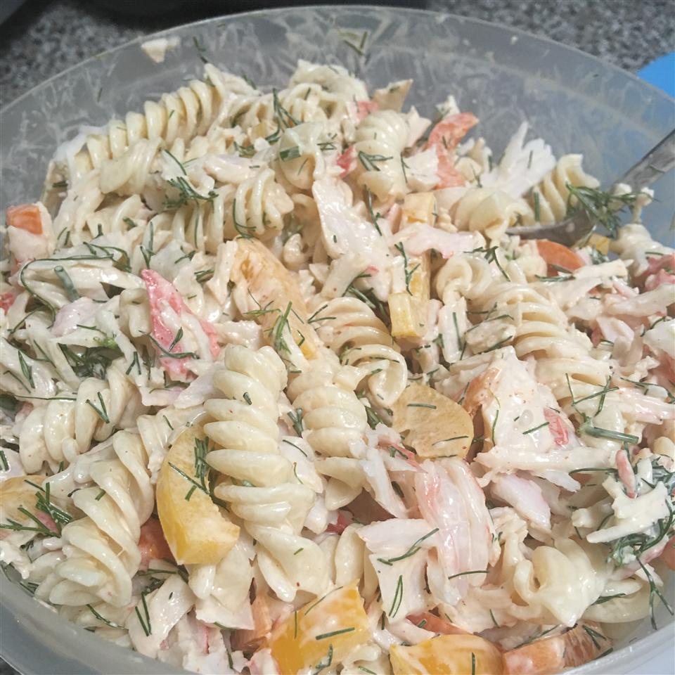Creamy Crab and Pasta Salad