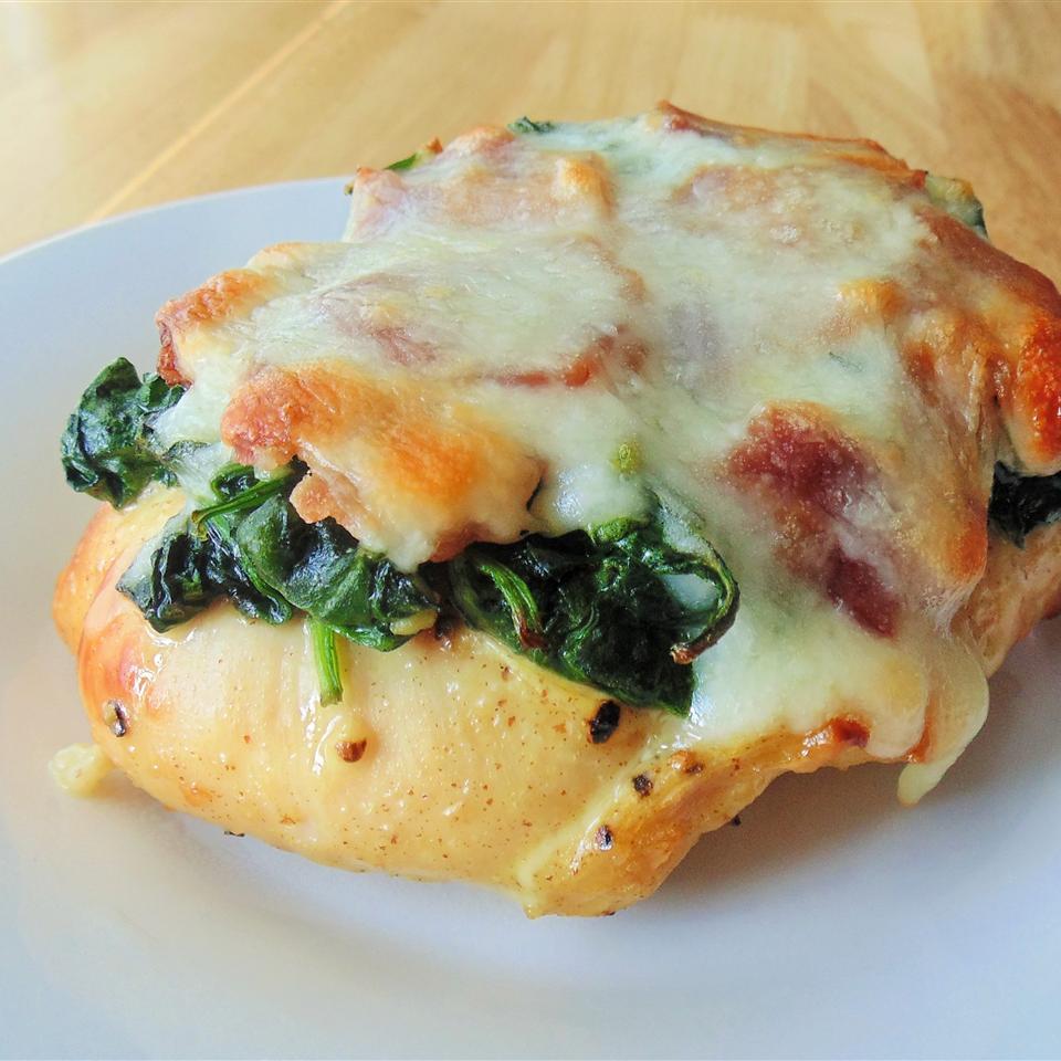 Spinach Salad  Chicken Bake Chef_Mindy