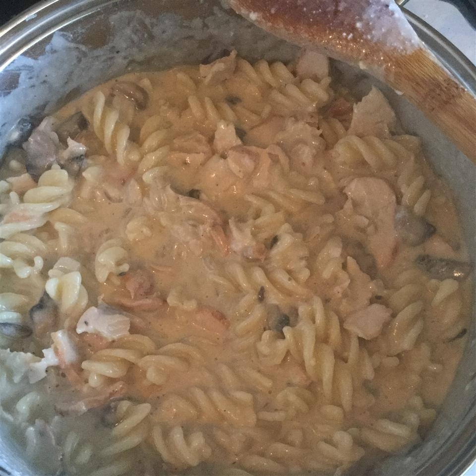 Greek Yogurt Chicken Stroganoff with Mushrooms rbjustdoit1