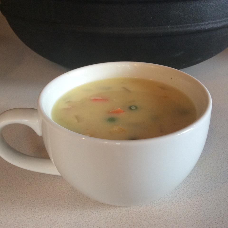 Lemon Chicken Soup I Chef Irene