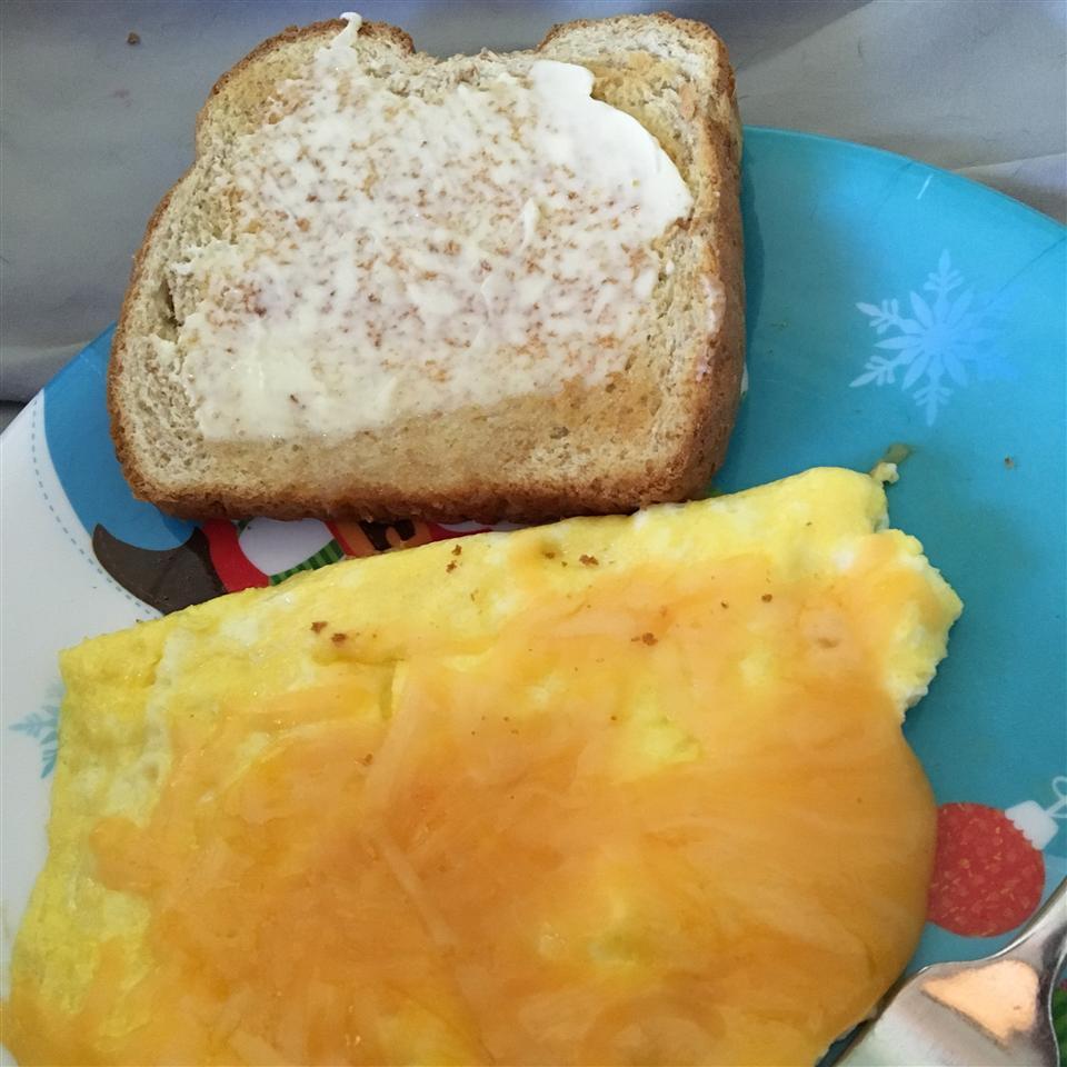 Egg Flipped Over Bailey