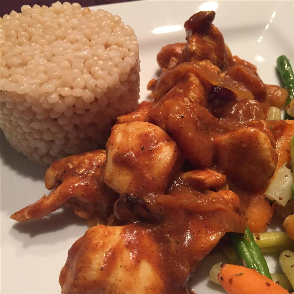 Chicken Tagine with Couscous thedailygourmet