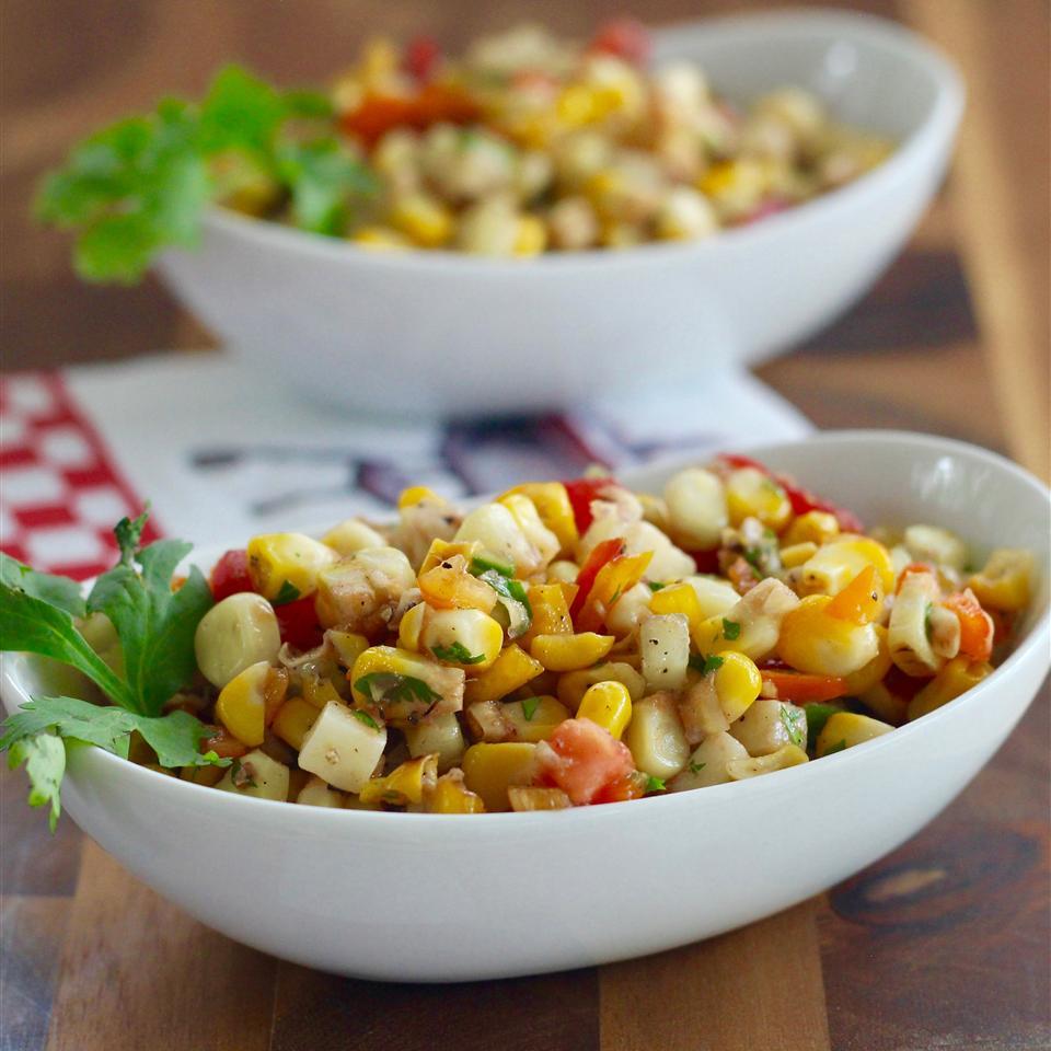 Kate's Grilled Corn Salad - Printer Friendly