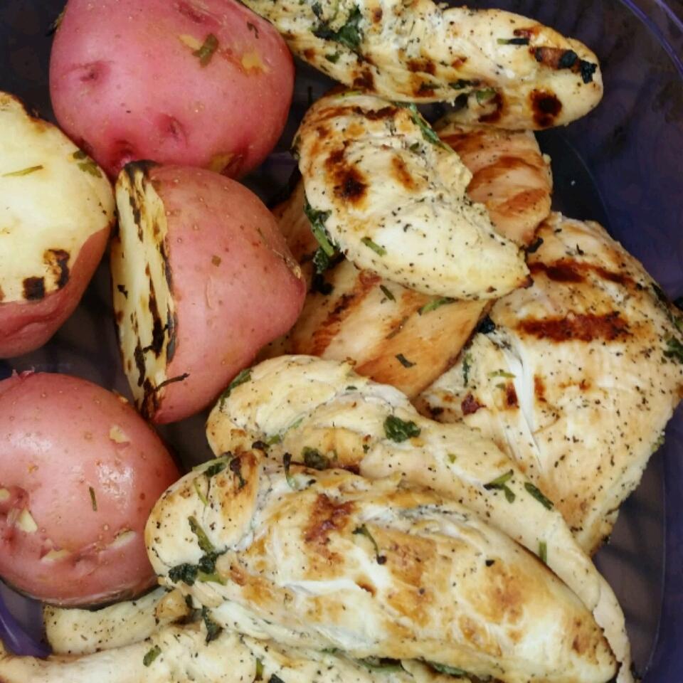 Cilantro-Lime Grilled Chicken Leroy Cobretti